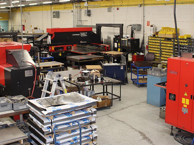 Custom Sheet Metal Fabrication Amp Manufacturing Toronto